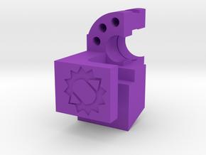 Canned Airlock - Multicolor in Purple Processed Versatile Plastic