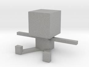 Square Man in Aluminum