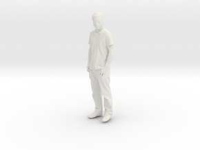 Printle C Homme 140 - 1/32 - wob in White Natural Versatile Plastic