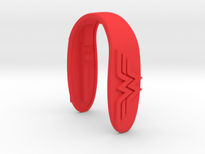 WONDER WOMAN KEY FOB in Red Processed Versatile Plastic