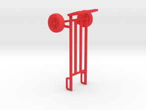 Sackkarre in Red Processed Versatile Plastic