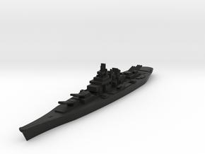 USS montana 1/1800 in Black Premium Versatile Plastic