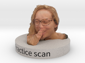 Practice scan in Full Color Sandstone