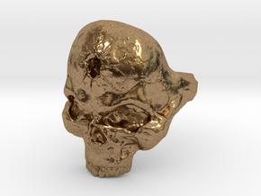 Skull_Ring-Bullet-8 in Natural Brass
