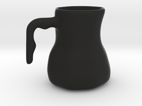 mug in Black Natural Versatile Plastic