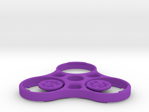 Luck Puck v3 in Purple Processed Versatile Plastic