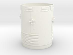 Bt58 Sm - Ascii in White Processed Versatile Plastic