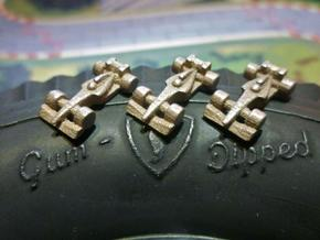 Formula 1 Miniatures - 2011 in Stainless Steel