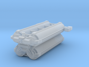 Omni Scale General Heavy Freighter (Stacked) SRZ in Smooth Fine Detail Plastic