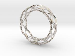 Vornado in Rhodium Plated Brass