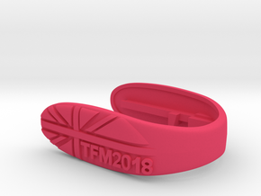 UNION TFM2018 KEY FOB  in Pink Processed Versatile Plastic