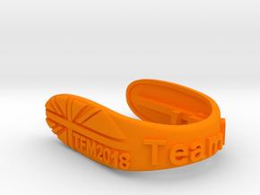 UNION TFM2018 F-TEAM KEY FOB FOR MINI COOPER F MOD in Orange Processed Versatile Plastic