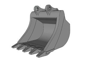 HO - Bucket for 20-25t excavators in Frosted Ultra Detail
