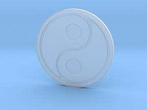 106102330丁韋中-太極杯墊 in Smooth Fine Detail Plastic