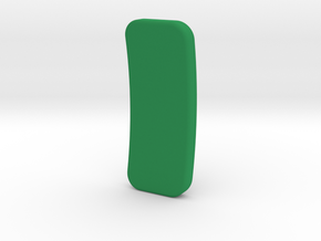 Single Sided Headphone Adapter in Green Processed Versatile Plastic