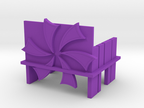 OpenTheGift in Purple Processed Versatile Plastic