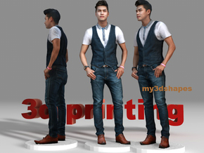 Phet Thakrit actor , singer , popstar. in Full Color Sandstone