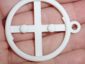 Ying Yanger -Outer Ring v1a in White Natural Versatile Plastic