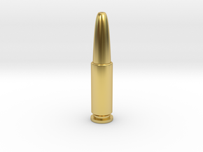 James Bond Golden Bullet in Polished Brass