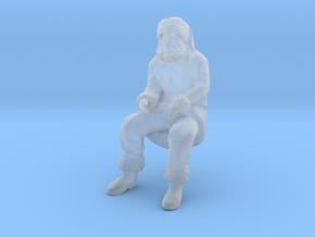 Santa Claus Sitting in Smoothest Fine Detail Plastic: 1:160 - N
