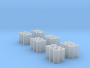 Six Packs in Smooth Fine Detail Plastic: 1:87 - HO
