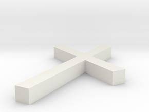 Rune_Nauthiz in White Natural Versatile Plastic