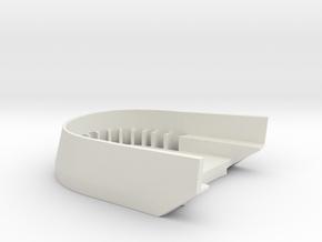 BoostedBoardV2_skid_plate in White Premium Versatile Plastic