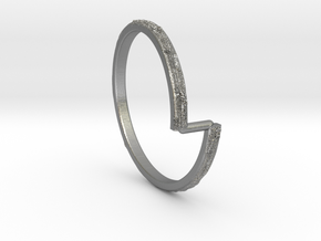 Vod Ring in Natural Silver