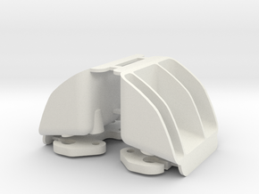 MYK-3TX002 XMAXX Tail Light Buckets in White Natural Versatile Plastic