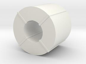 Coil Stahlblech - 1:87 H0 in White Natural Versatile Plastic