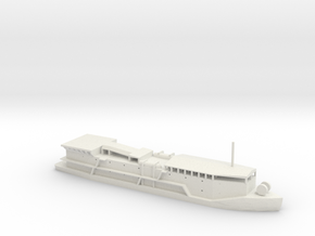 1/285 Scale APL-29 Barracks Ship Class in White Natural Versatile Plastic