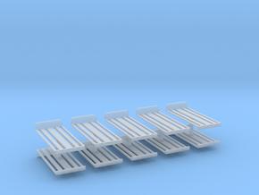Dachrost für B1000 10erSet - 1:120 TT in Smooth Fine Detail Plastic