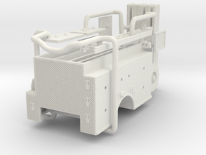 1/64 Philadelphia ALF Engine body in White Natural Versatile Plastic