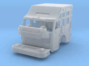 "1/160 Rosenbauer cab w/ 24"" raised roof in Frosted Ultra Detail"