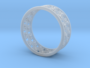 "Bracelet ""Rotate"" in Smooth Fine Detail Plastic: Medium"