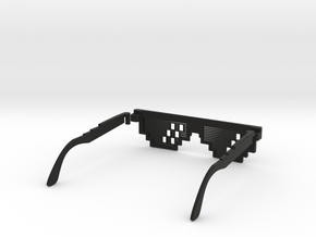 Deal with it - thug life Glasses in Black Natural Versatile Plastic