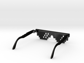 Deal with it - thug life Glasses in Matte Black Steel