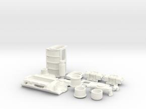 1/10 BBC GMC Blower System in White Processed Versatile Plastic