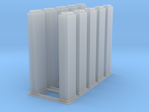 1/64 10k trunking 5pcs in Smooth Fine Detail Plastic