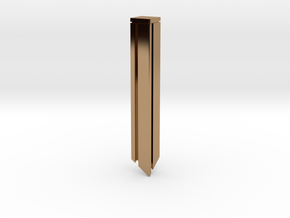 SLEEK PENDANT in Polished Brass