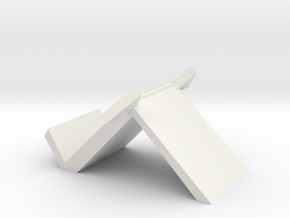 phone stand 4 in White Natural Versatile Plastic: Small