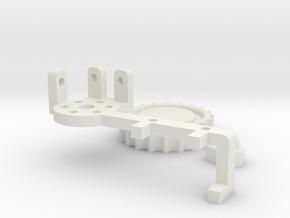 AT-AT Clock Arm in White Natural Versatile Plastic