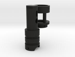 Luke´s crystal pendant (beta) in Black Premium Versatile Plastic
