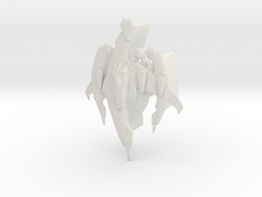 Breen - Warship in White Natural Versatile Plastic