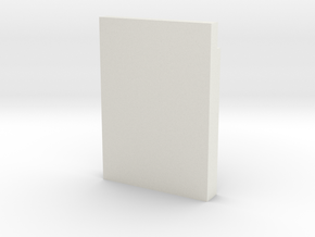 1:64 Flat Hive Base in White Natural Versatile Plastic