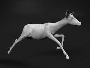 Impala 1:25 Running Female in White Natural Versatile Plastic