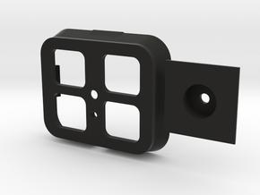 Base Kinecct Xbox for tripod in Black Natural Versatile Plastic