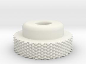 AT-AT Thumbnut  in White Natural Versatile Plastic