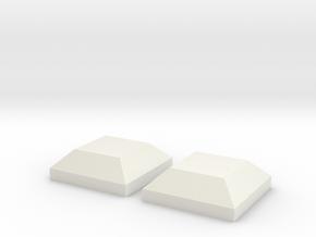 AT-AT Square Set in White Natural Versatile Plastic