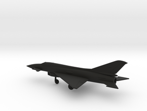 MiG E-8 in Black Natural Versatile Plastic: 1:160 - N